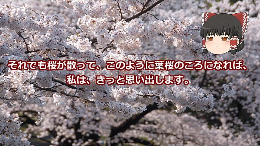 【ゆっくり文庫】太宰治「葉桜と魔笛」
