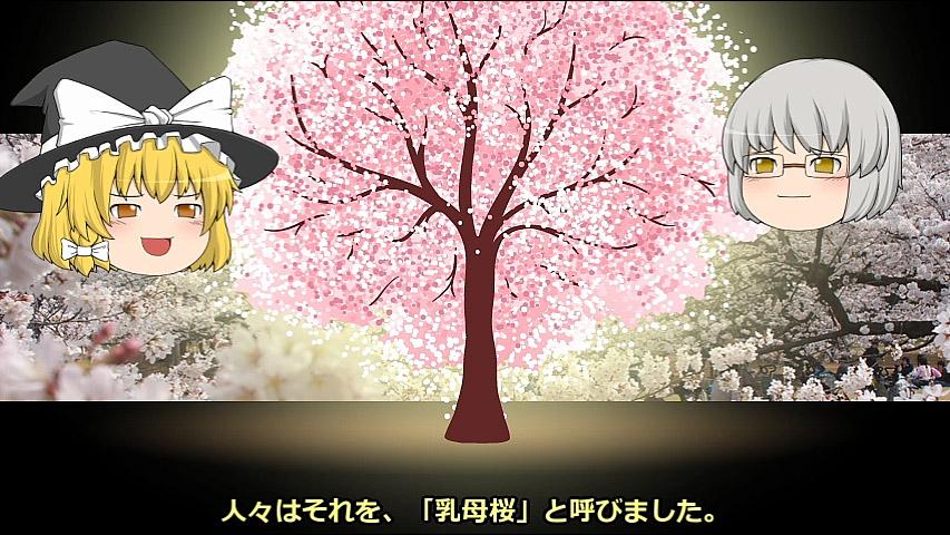 【ゆっくり文庫】小泉八雲「十六桜」「乳母桜」