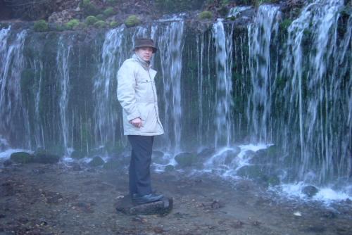 白糸の滝 / さらさら美しい滝