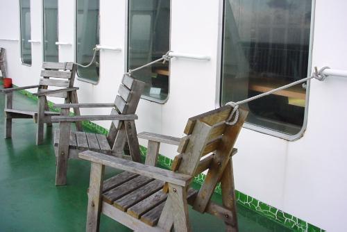 三井商船フェリー / 苫小牧へ入港