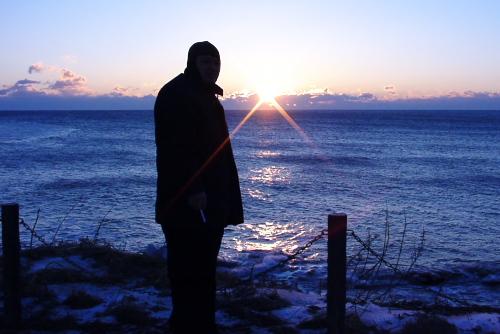 納沙布岬の夜明け