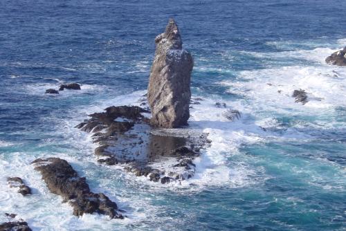 神威岬 / 神々しいまでの断崖絶壁