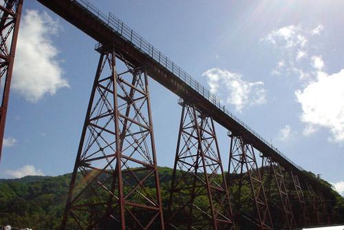 余部鉄橋 / はじめて見るのに懐かしい
