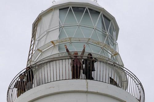 犬吠埼灯台に登ったよ
