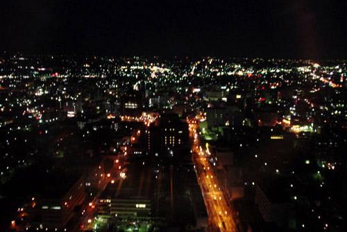群馬県庁からの夜景 / うれしいスポット