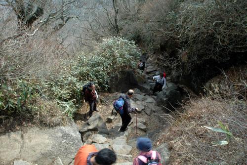筑波山山頂へ / ロープウェイで登って、歩いて下る