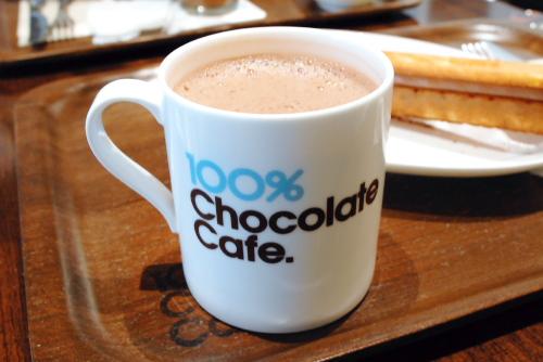 100%チョコレートカフェ / チョコロネが最強