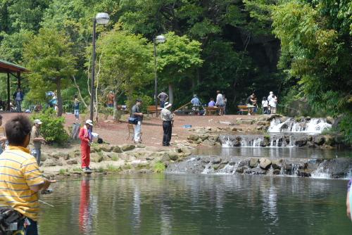 すそのフィッシングパーク / 初めての釣り体験