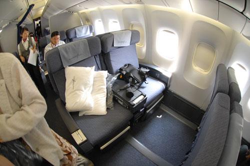コンチネンタル航空 / 一生に一度はビジネスクラス