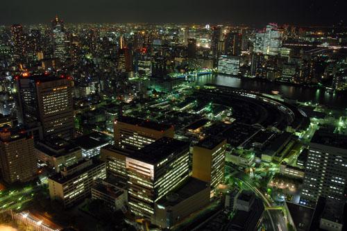 汐留シオサイト / 迷宮の夜景