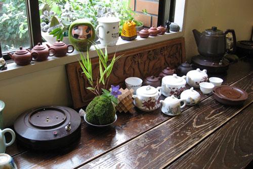 梅舎茶館 / 苦丁茶の昼下がり