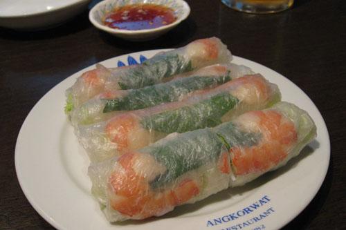 アンコールワット / カンボジア料理ってどうよ?