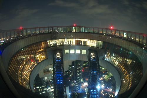 空中庭園展望台 / 大阪の空と夜景