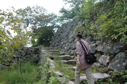 郡山城跡(こおりやまじょうあと)の散策