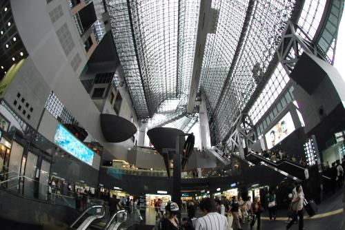 ふたたび京都駅