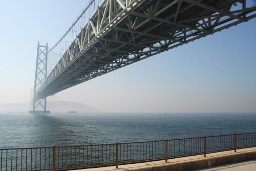 明石海峡大橋を見てきた