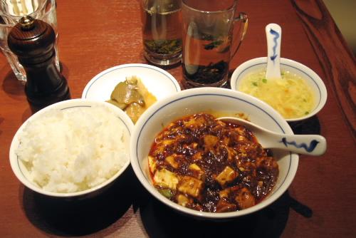 陳麻婆豆腐 西新宿店 / 3度目のアヒーッ!
