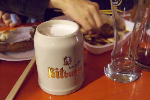 日比谷ジャーマン・フェスト2007 / 雨の夜にビール三昧