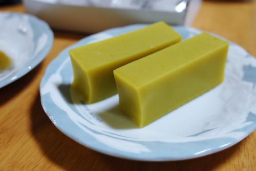 舟和の芋ようかん / 和菓子のしっとり感