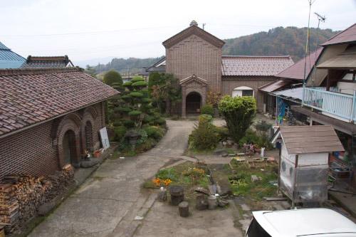 三津谷集落・煉瓦蔵の室温
