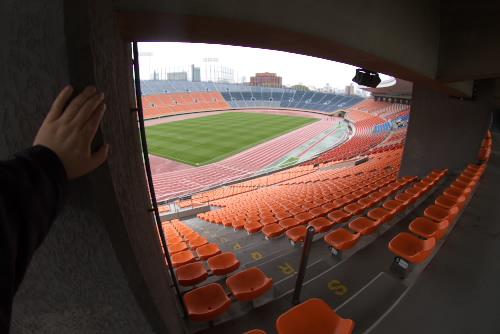 国立霞ヶ丘競技場と秩父宮記念スポーツ博物館