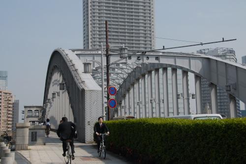 勝鬨橋と橋の資料館