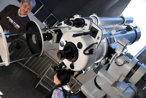 川崎市青少年科学館 / プラネタリウムを鑑賞した
