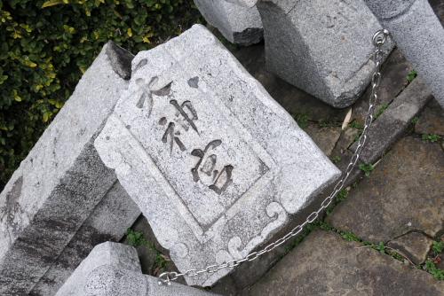 一本柱鳥居、山王神社の大クス