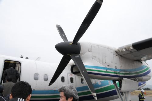 DHC-8-200 / はじめてのプロペラ機