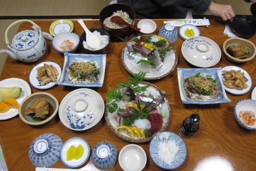 民宿・福田家 / 美味しい夕食