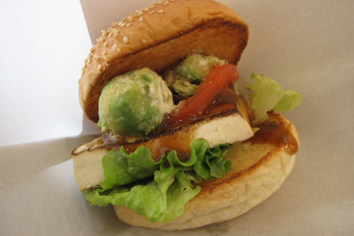 FLESHNESS BURGERの肉なしバーガー2種