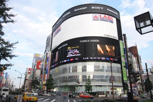 LABI新宿東口館 / 3Dテレビの見え方