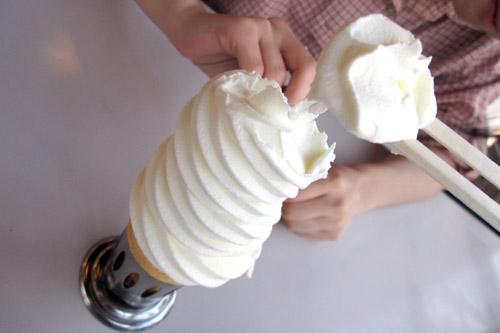 マルカンデパート大食堂 / 巨大ソフトクリームとタイムスリップ気分