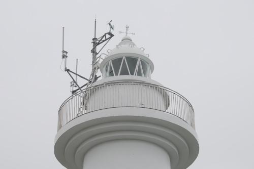 鮫角灯台と葦毛崎