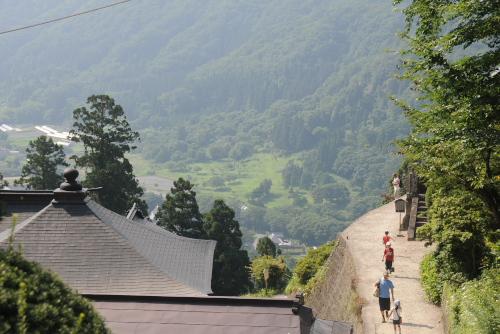 山寺 / まさに山にある寺だった