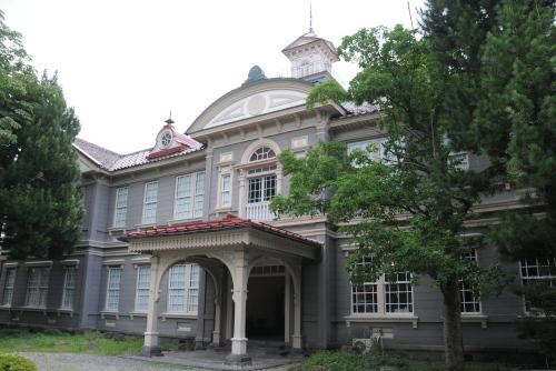 山形県立博物館分館 教育資料館(旧山形師範学校本館)を見学した