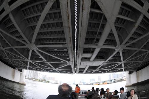 ジーフリート号で箱崎から晴海へ / 中央区まるごとミュージアム