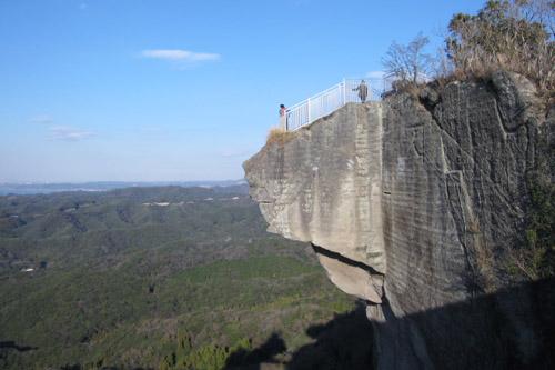 日本寺から鋸山を登る / 驚異の絶壁