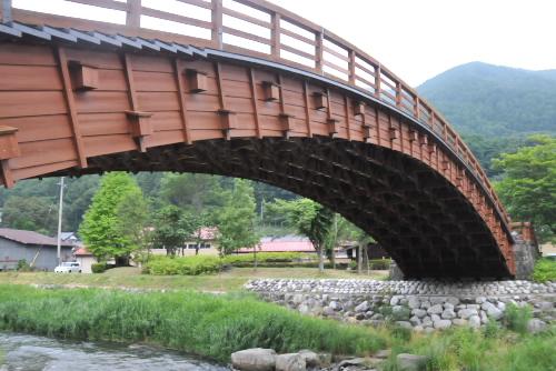 木曽の大橋 / 奈良井宿の目印として