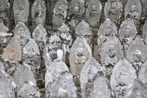 奈良井宿 二百地蔵 / 旧中山道の面影をしのぶ