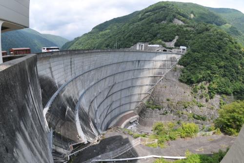 奈川渡ダム / まさか梓川テプコ館が閉館していたとは!!