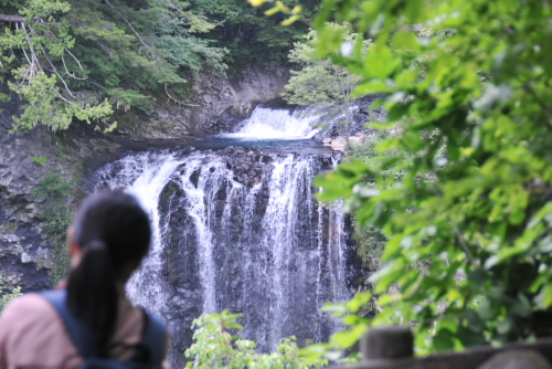 善五郎の滝で足をすべらすな