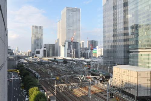 東京国際フォーラム / 東京駅がよく見える絶景スポットより