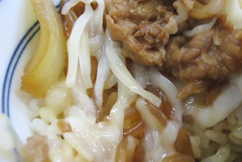 牛鍋丼+追っかけチーズ / 吉野家 笹目通り光が丘店