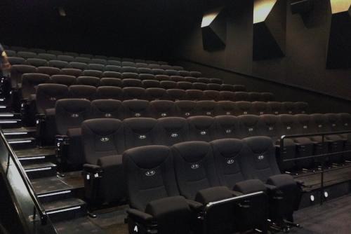縦に積み重なった映画館 / 新宿ピカデリー