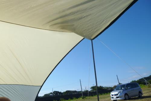 8月は海キャンプ / 多田良北浜キャンプ場